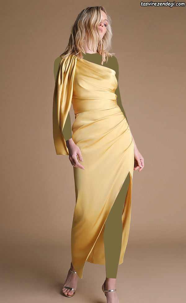 لباس مجلسی رومی والان دار