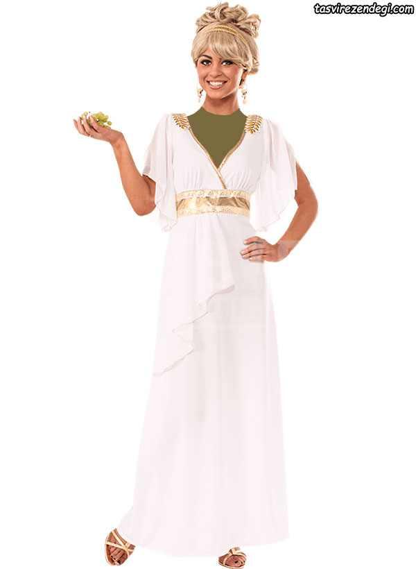 لباس مجلسی رومی یونانی