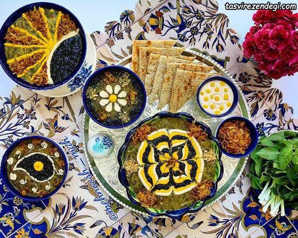 آش افطاری
