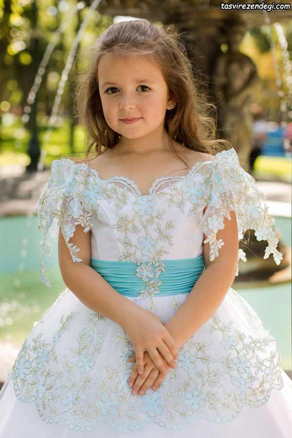۱۰۳ مدل لباس مجلسی دختر بچه جدید | مدل پیراهن دخترانه شیک 2020 ...