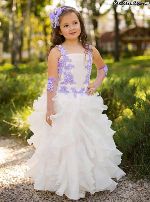 لباس مجلسی پرنسسی دختر بچه