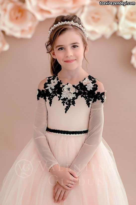 مدل لباس مجلسی بچگانه دختر بچه