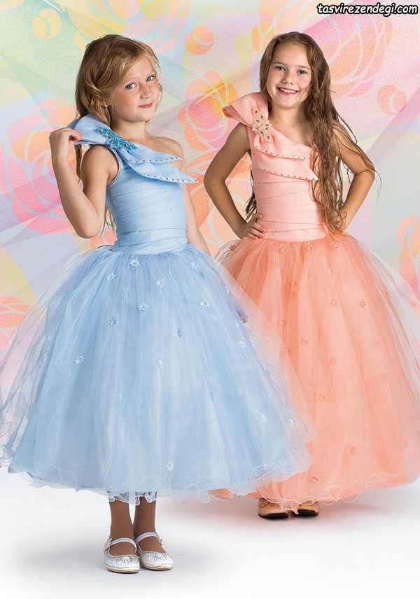 مدل لباس پرنسسی مجلسی دختر بچه