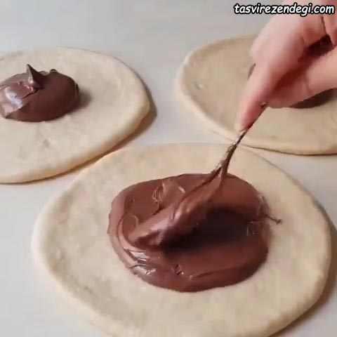 طرز تهیه پوآچا پنبه ای شکلاتی