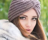 مدل توربان بافتنی زمستانی دستباف (توربان قلاب بافی و میل بافی)