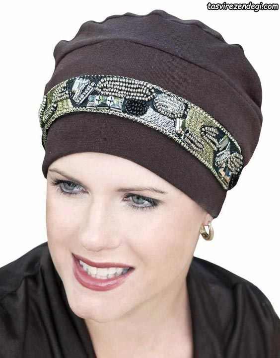 مدل توربان مجلسی کلاه حجاب