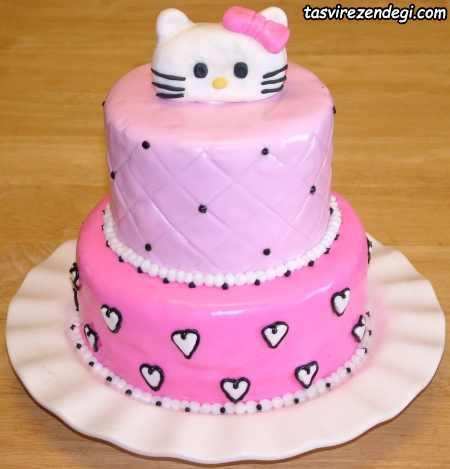 کیک روز دختر کیتی