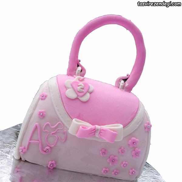 کیک روز دختر کیف