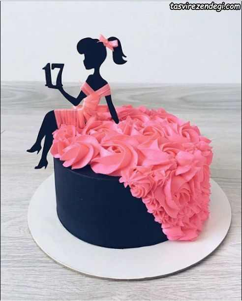 کیک روز دختر برای نوجوان