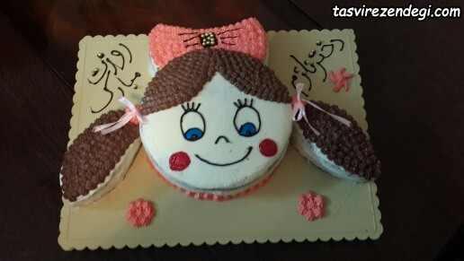کیک روز دختر برای بچه ها