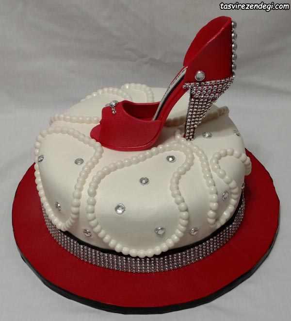 کیک روز دختر کفش