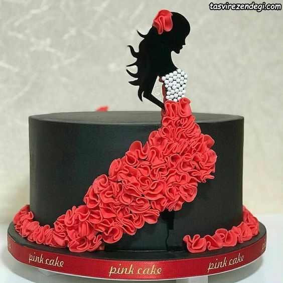 کیک روز دختر بزگسال