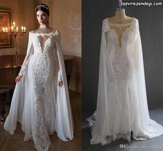 مدل تور عروس شنلی