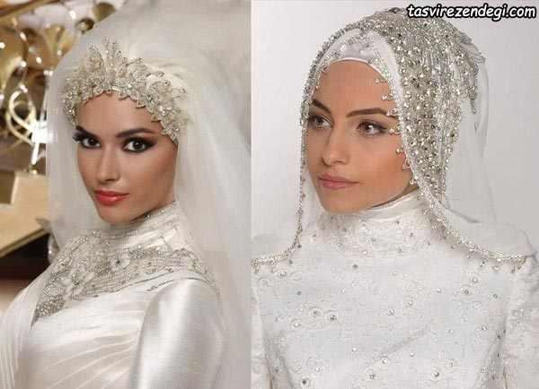 مدل تور عروس اسلامی