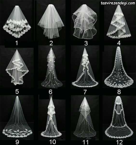 انواع مدل تور عروس