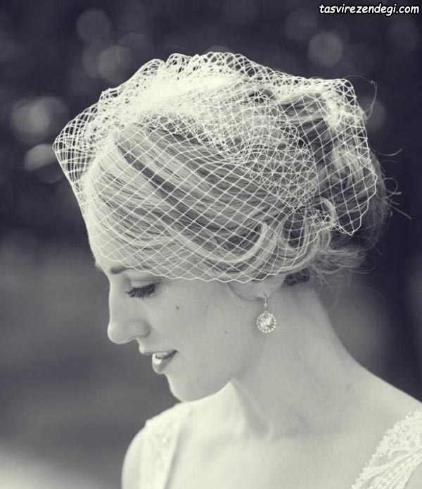 مدل تور عروس خیلی کوتاه