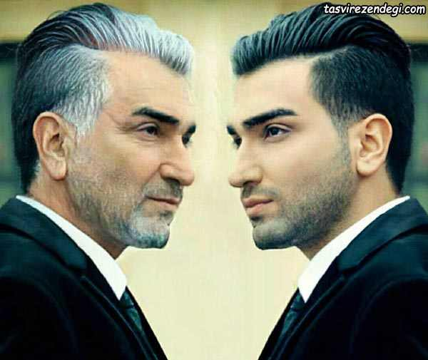 چالش عکس پیری حسین تهی