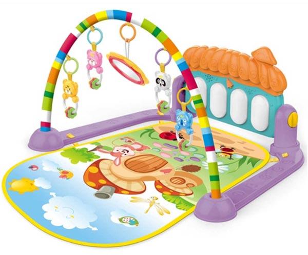 تشک بازی کودک موزیکال play gym