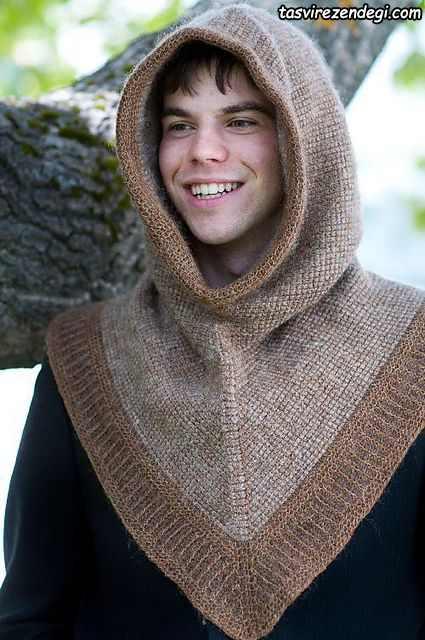 شنل کلاه مردانه Hooded Cowl