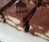 کیک موزاییک لیدی فینگر