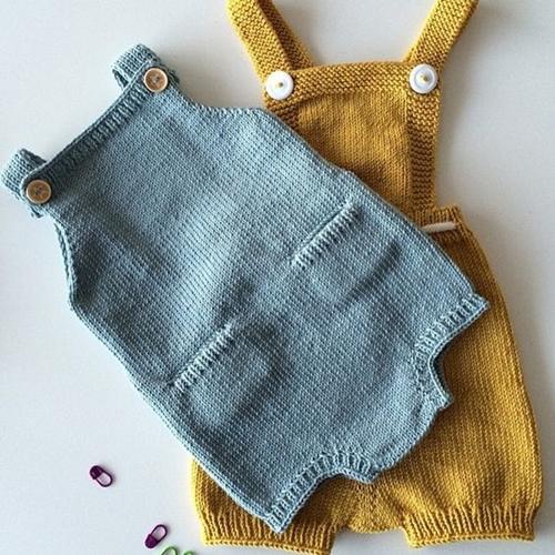 مدل رامپر بافتنی نوزادی بچگانه میل بافی
