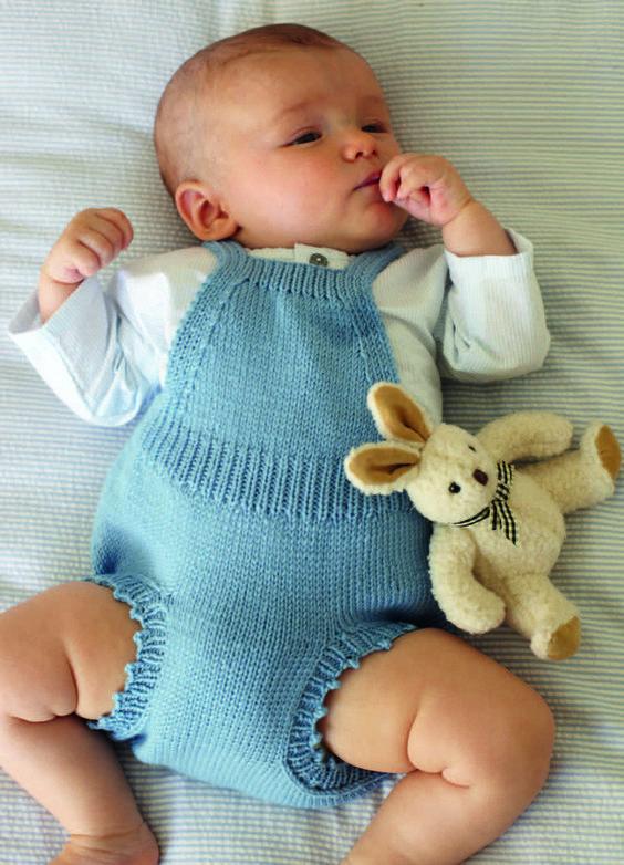 مدل رامپر بافتنی نوزادی بچگانه