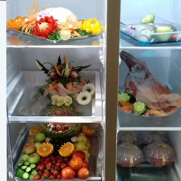دیزایت تزیین گوشت یخچال نوعروس