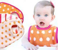 آموزش دوخت پیشبند نوزاد