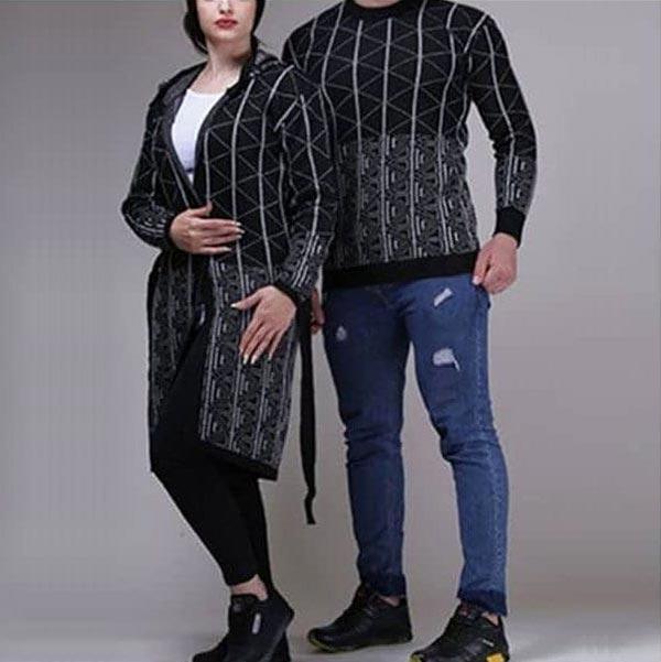 ست لباس بافتنی زن و شوهری