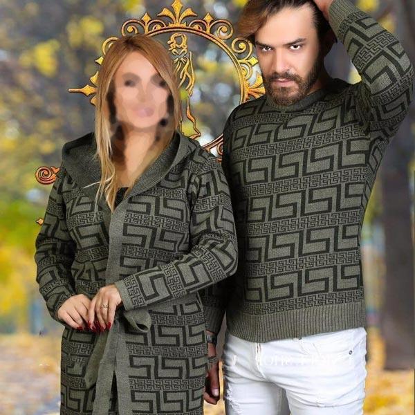 ست لباس زمستانی مردانه زنانه