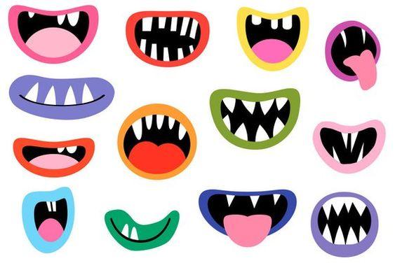 عکس دهان و دندان فانتزی
