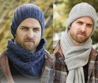 مدل شال و کلاه ست مردانه