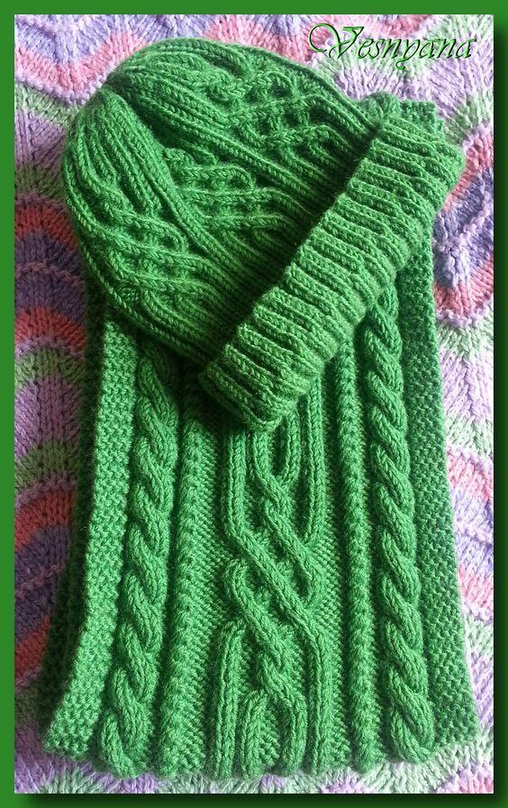 شال و کلاه سبز