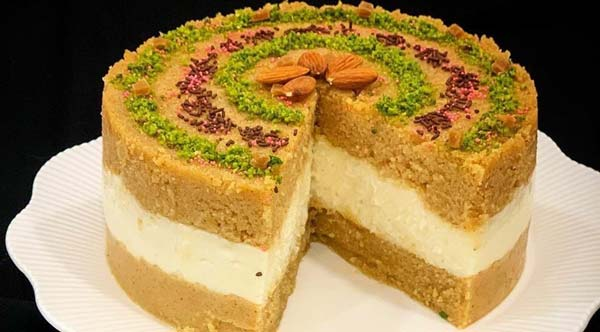 کیک حلوا ایرمیک