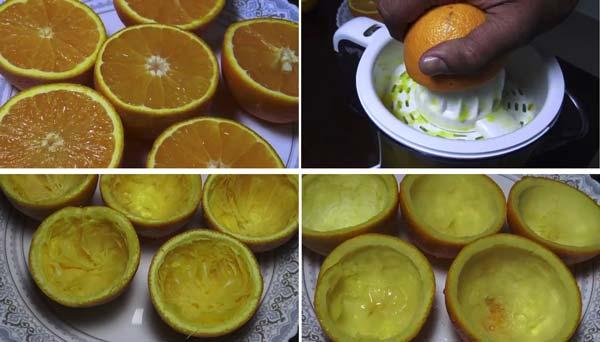 ترشی پوست پرتقال با تمبر هندی