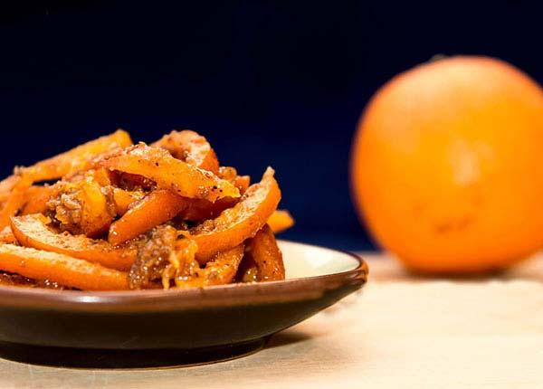 ترشی پوست پرتقال