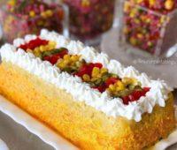 کیک سیب زمینی و هویج