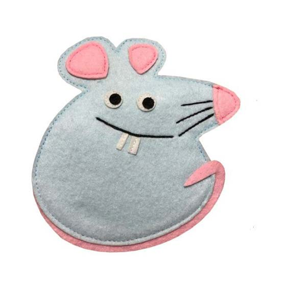 موش نمدی ساده