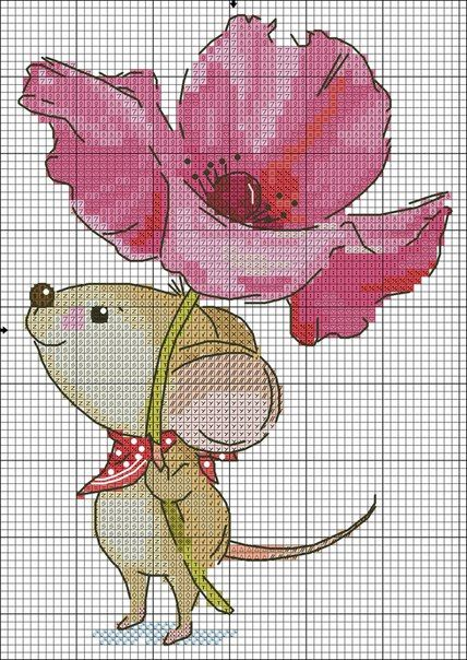 عکس موش شماره دوزی
