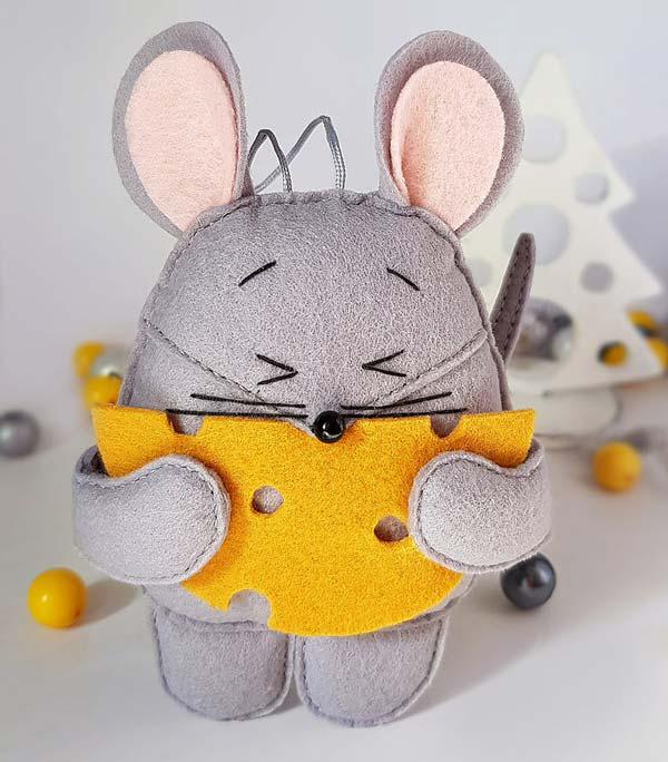 موش نمدی پر خور