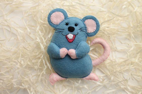 موش نمدی خندان