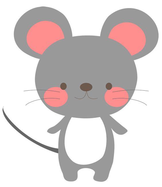 طرح موش برای عروسک نمدی