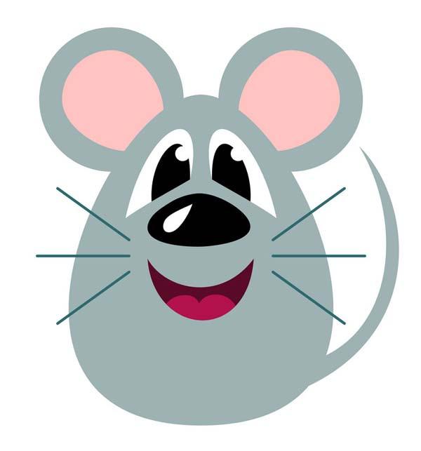 عکس موش برای نمد دوزی