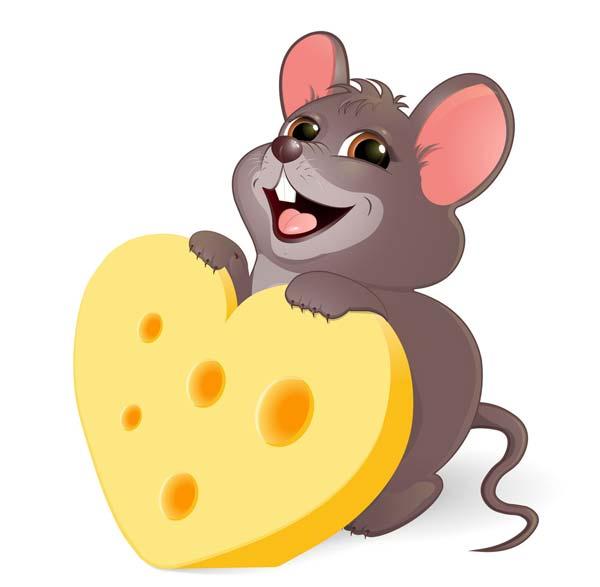 طرح زیبای موش