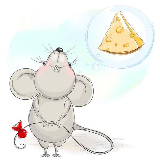 موش کارتونی