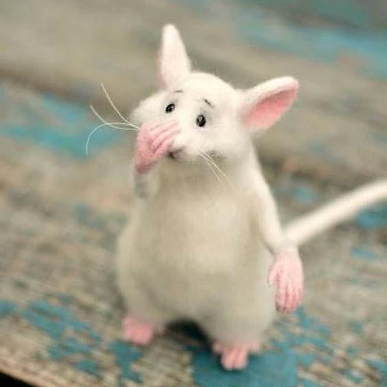 عروسک موش فانتزی