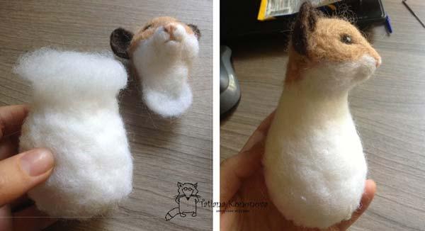 عروسک موش کچه دوزی