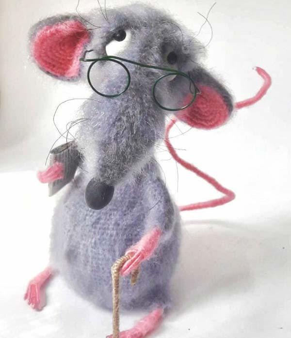 عروسک موش پیر