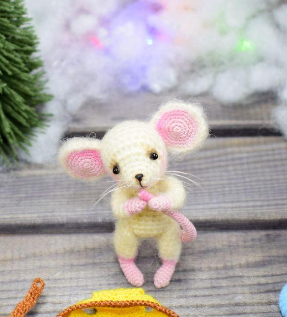 عروسک موش کوچولوی سفید