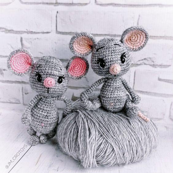موش قلاب بافی
